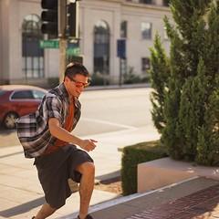 Caught running up the stairs! #timothymichaelgould #timothygould #timgould #tim #tagforlikes #run #action #instalike #Pasadena #OldtownPasadena