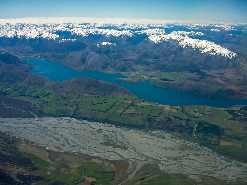 View of the South Island