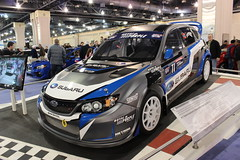 touring car(0.0), sedan(0.0), automobile(1.0), subaru(1.0), vehicle(1.0), automotive design(1.0), rallycross(1.0), auto show(1.0), world rally car(1.0), compact car(1.0), land vehicle(1.0),