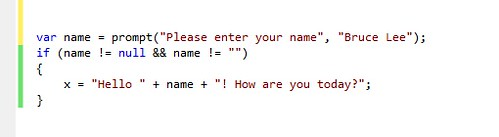 javascript prompt box in html