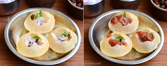 How to make pani puri step 5