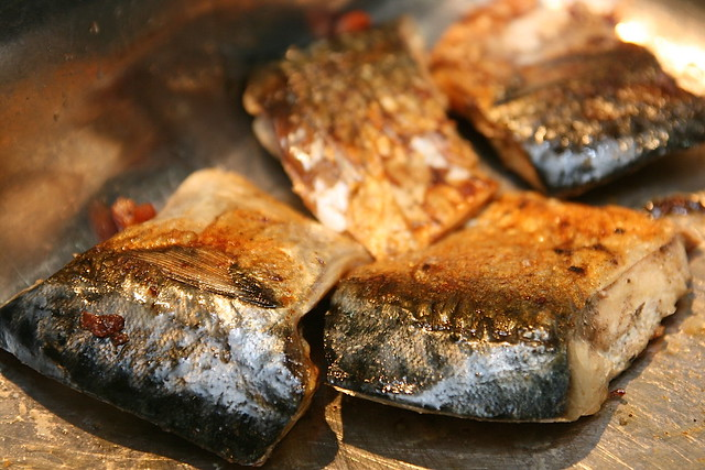 Saba grilled mackerel