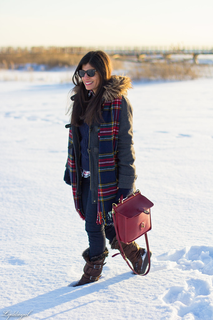 navy sweater, plaid shirt, plaid scarf, coat-1.jpg