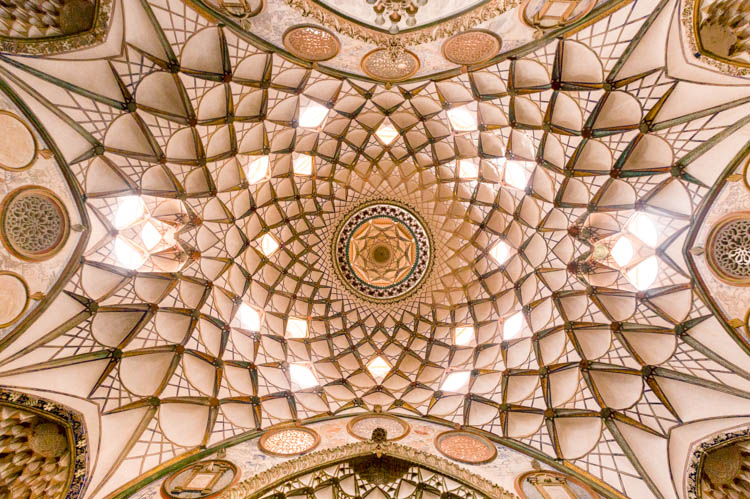 Look up in Iran