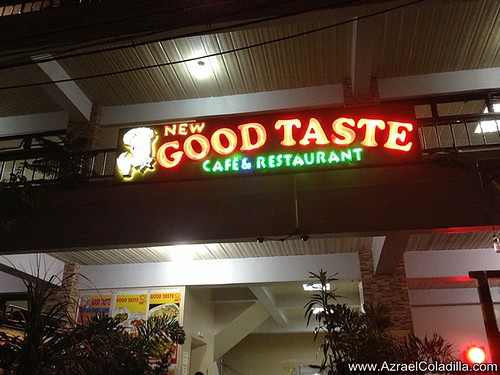 Baguio tour blog 4 - dinner in Good Taste