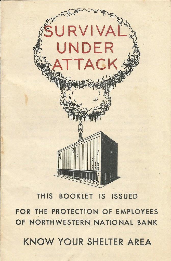 'Survival Under Attack' - Northwest National Bank - Minneapolis, Minnesota U.S.A. - date unknown
