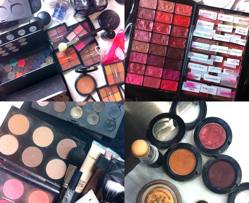 Backstage Secrets & M.A.C Cranberry