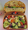 Roast Chicken Sandwich & Salad Bento