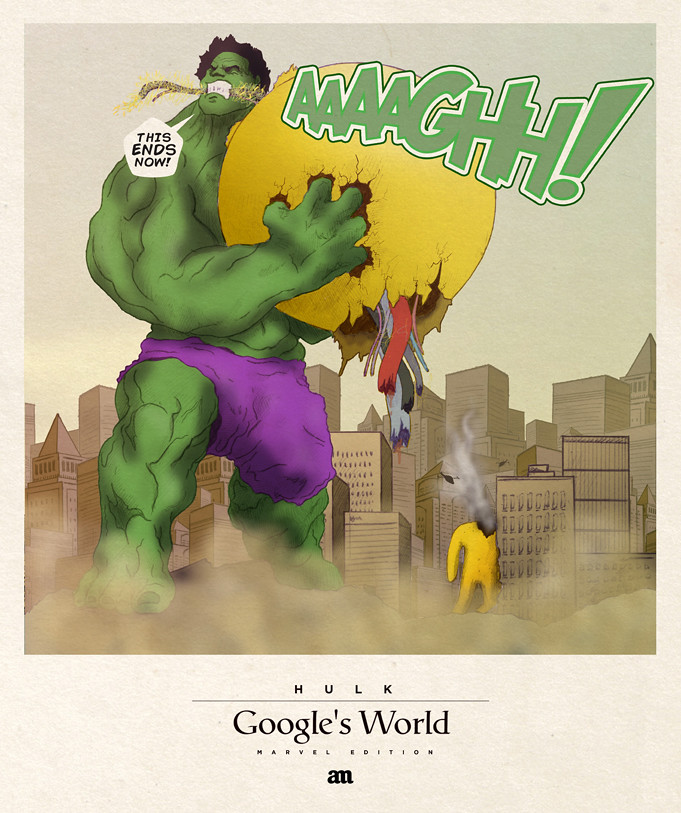Hulk 'Google's World - Marvel Edition'