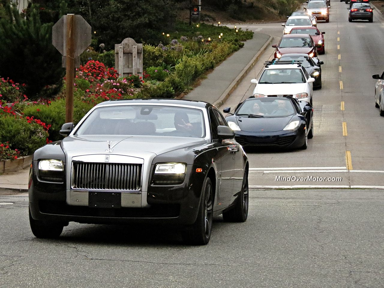 Exotic Car Spotting Carmel Rolls Royce Ghost