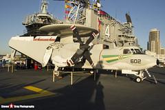 161227 602 - A-67 - US Navy - Grumman E-2C Hawkeye - USS Midway Museum, San Diego, California - 141223 - Steven Gray - IMG_6775