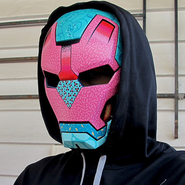 Codename Unknown Ironman Mask