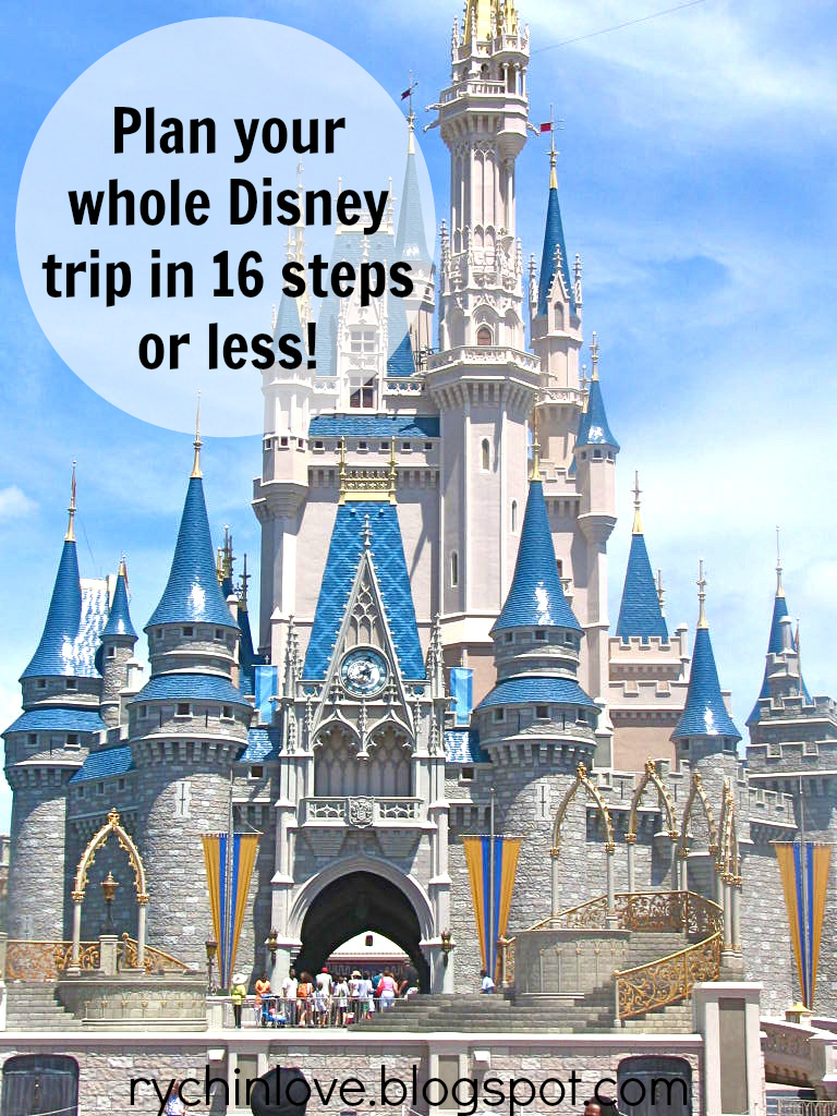 How to plan your WHOLE trip to Disney