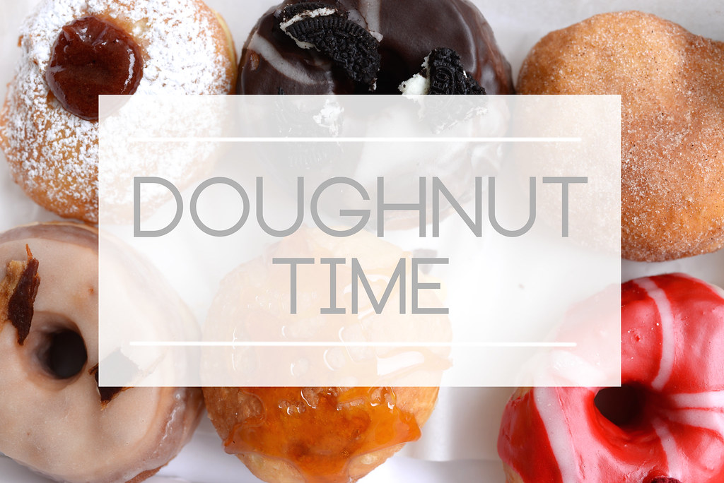 What time is it? It's Doughnut Time!