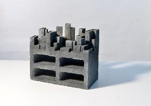 urban organism concept model installation 6a-mod-e 2013