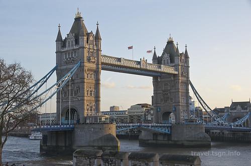 【写真】世界一周 : ロンドン塔、タワーブリッジ