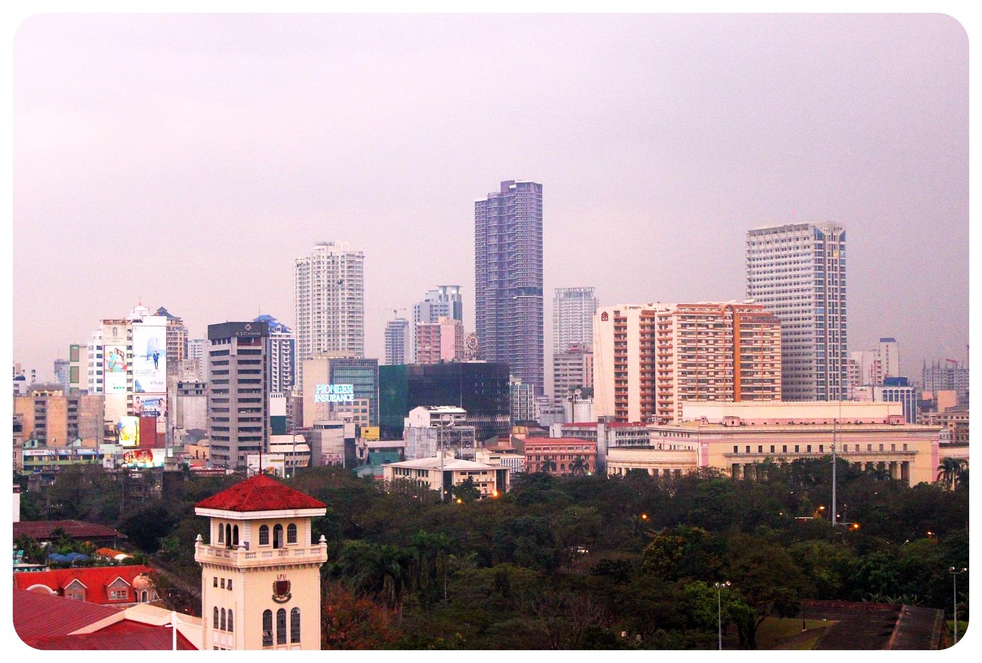 manila skyscrapers philippines