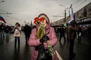 Марш памяти Бориса Немцова \ 01.03.2015