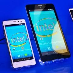 Smartphone y phablet con chips de #Intel #MovingMobile en el #MWC15