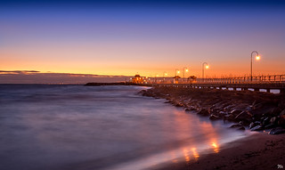 St Kilda Pier Signed