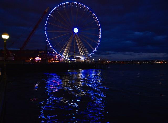 Ferris Wheel, Pike Place Market, Seattle ~ Explored ~