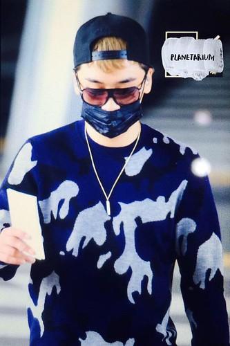 BIGBANG arrival ICN Seoul from Taiwan 2015-09-28 (39)