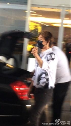 more BIGBANG arrival Shenzhen 2015-08-07 (8)