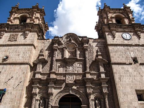 Puno: façade de la Cathédrale