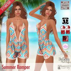 Maci ~ Summer Romper