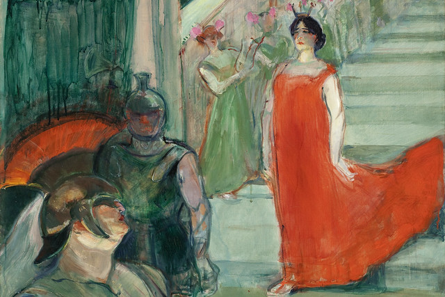 Henri de Toulouse-Lautrec, The Opera 'Messalina' at Bordeaux (1900-1901) Photo © Museum Associates/ LACMA