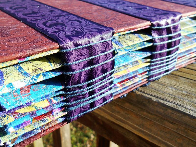 Anniversary Scrapbook Binding