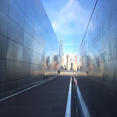 Empty Sky: New Jersey 9/11 Memorial at Liberty State Park in Jersey City, NJ.