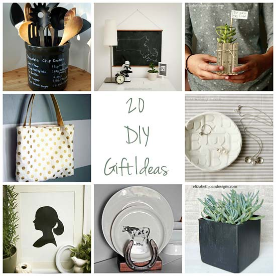 20 Homemade gift ideas copy