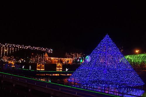 Flower Fantasy 2015 illumination at Ashikaga Flower Park 01