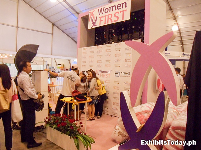 Women First Abbott Exhibit Stand