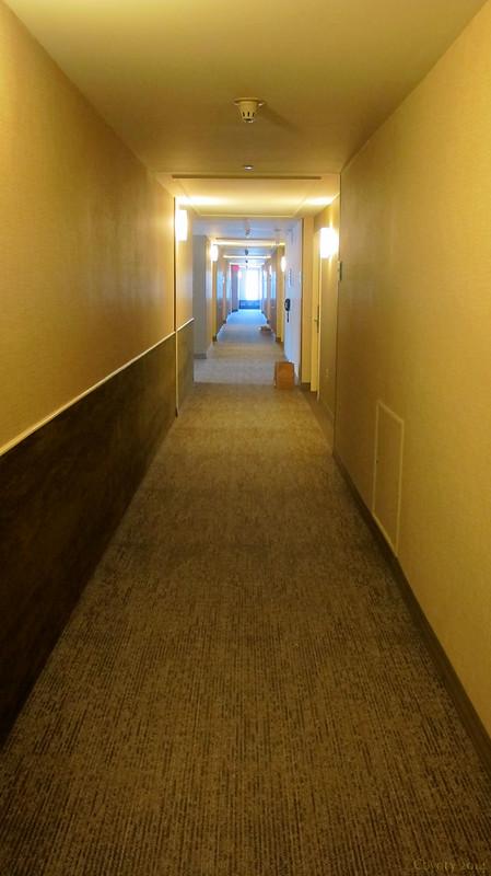 Westin Hotel hallway