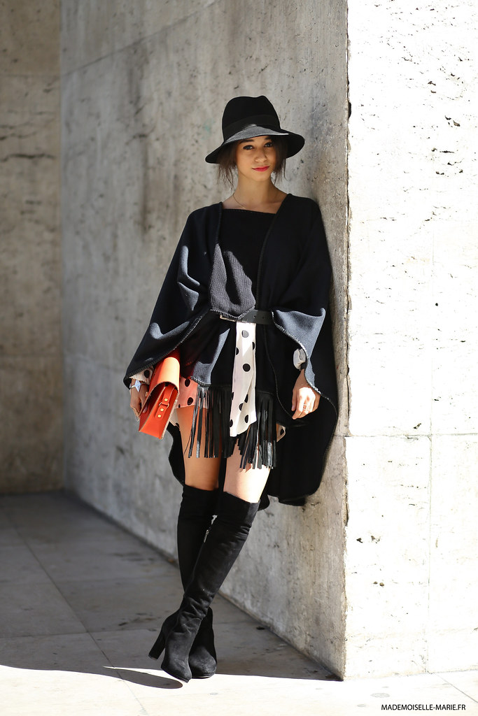 Lena Mahfouf at Paris fashion week