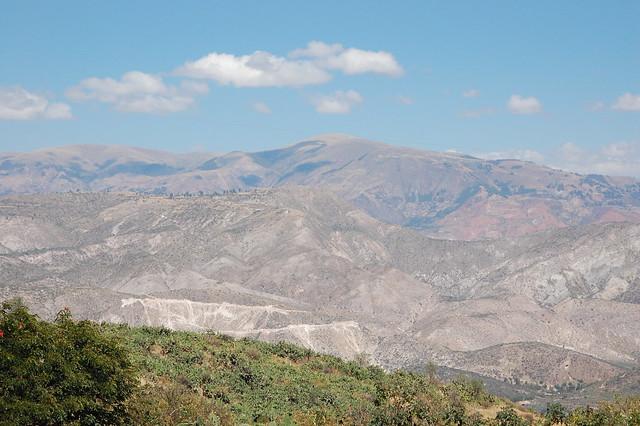 En Route to Wari, Ayacucho, Peru