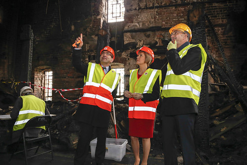 First Minister Nicola Sturgeon visits Glasgow School of Art