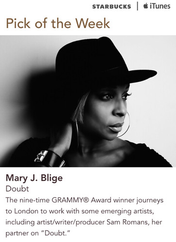 Starbucks iTunes Pick of the Week - Mary J. Blige - Doubt