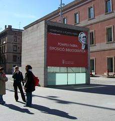 Exposició bibliogràfica: Homenatge a Pompeu Fabra