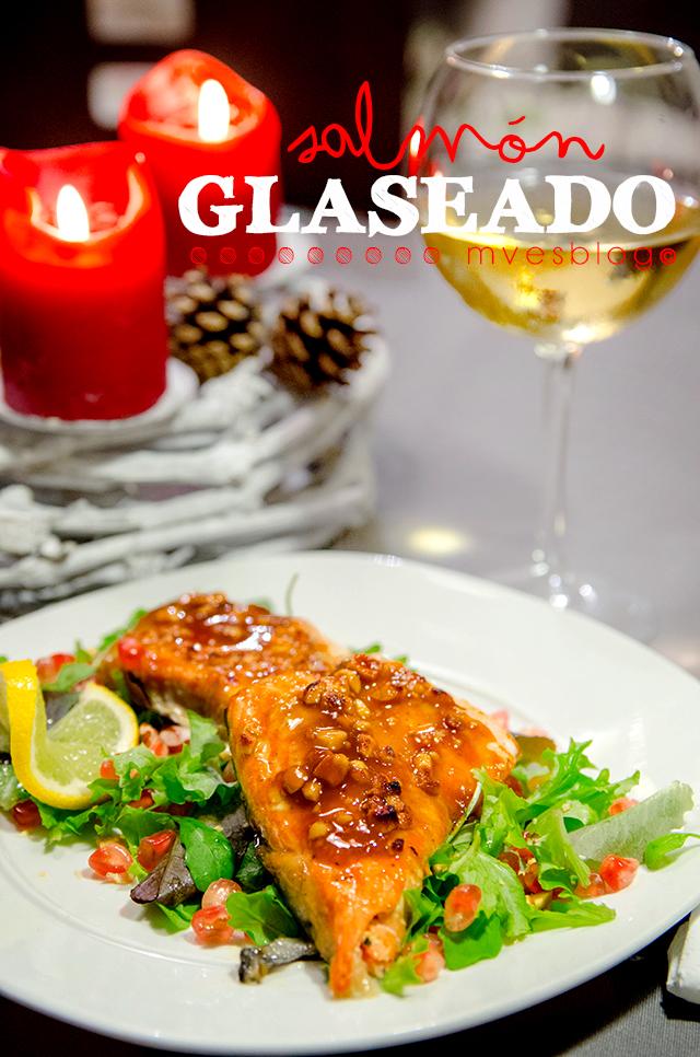 Receta paso a paso de salmón glaseado con miel y mostaza de Dijon