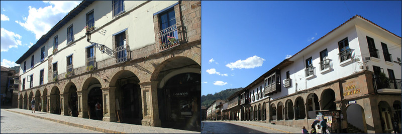 Colonial buildings of Cusco