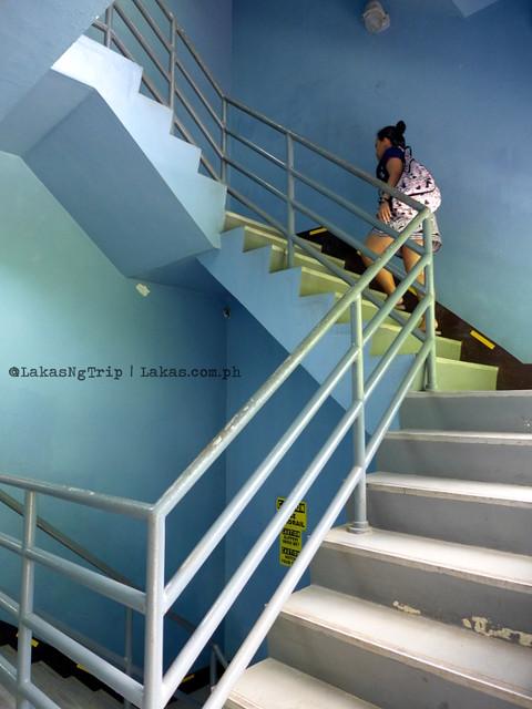 Stairs. NPC Nature's Park. Maria Cristina Falls in Iligan City, Philippines