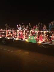 Christmas parade, Gun Barrel City Texas 2014