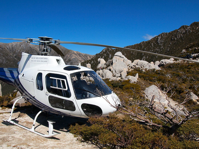 Reid Helicopters tour to Mount Olympus