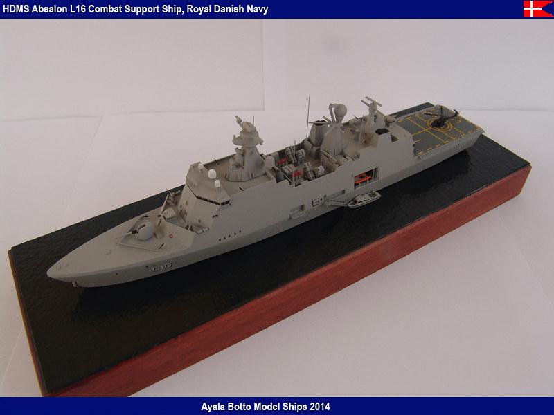 HDMS Absalon L-16  Navire de Soutien Multifonctions - NNT 1/700 16022123754_333b9803dd_c