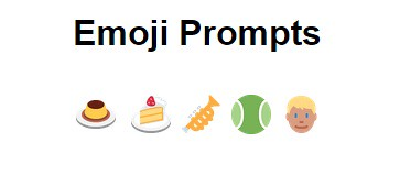 emoji story prompt