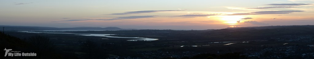 Sunset over the Loughor