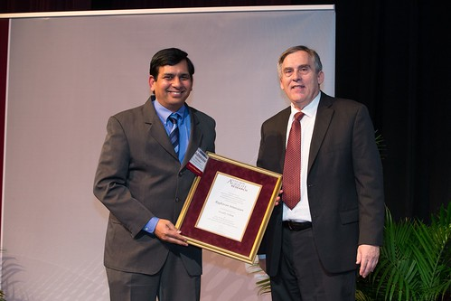 Texas A&M AgriLife Research honors Srinivasan with Faculty Fellow title